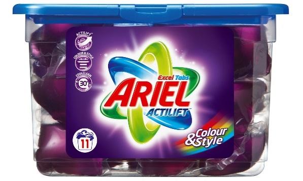Praktiske små doseringsposer til vaskemaskinen