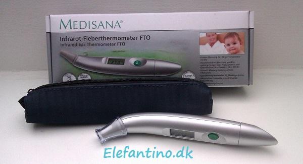 Anmeldelse af Medisana infrarødt termometer
