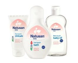 Hudpleje for babyer – Natusan Baby First Touch
