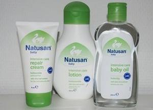 Natusan Intensive Care tager sig af babys hud