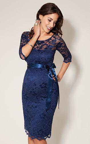 Amelia-kjole blaa