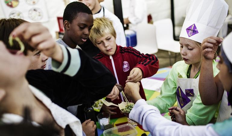 Tag børnene med til ARLA's Foodfestival